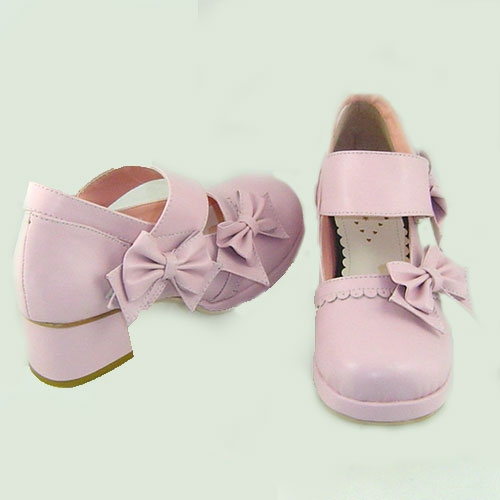 Heels Pink Lolita Shoes