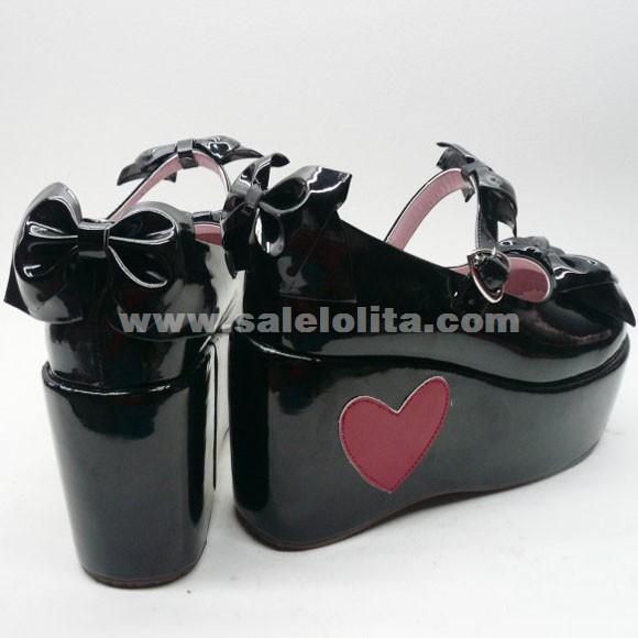 2014 New Arrival Summer Trochocephalia Bow High Heels Lolita Shoes