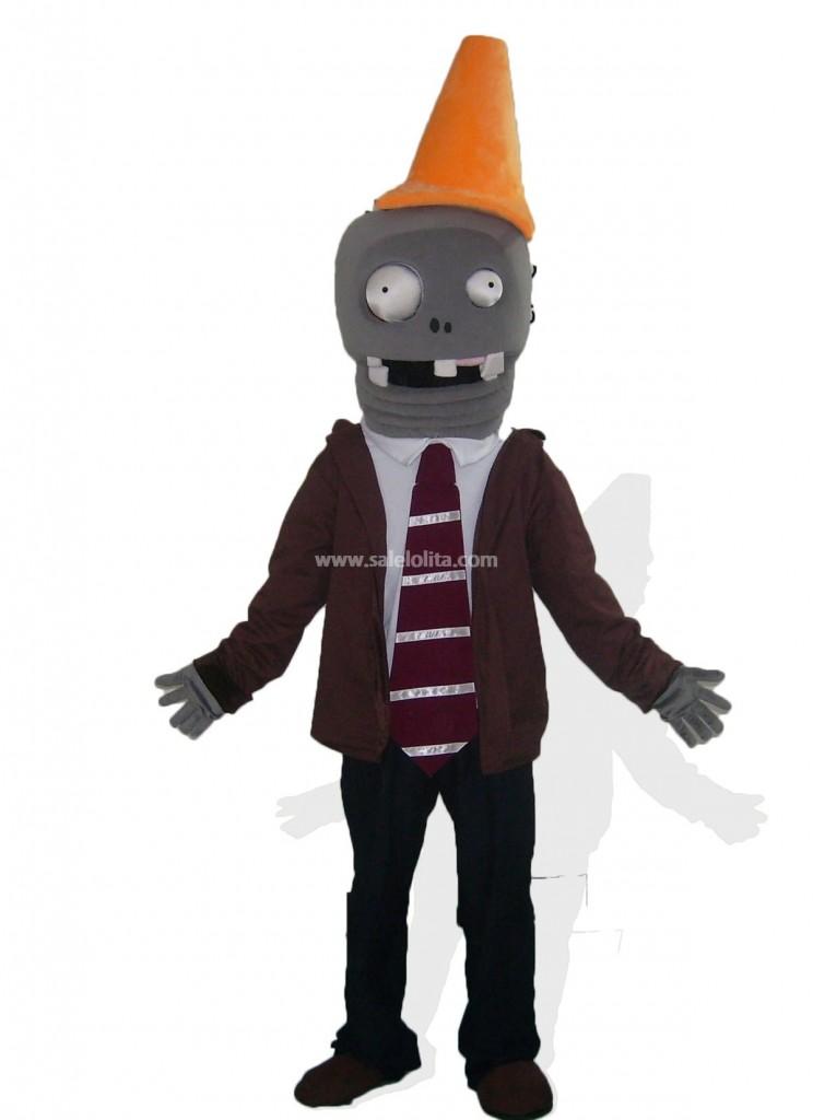 Halloween Cone Head Zombies Mascot Costume