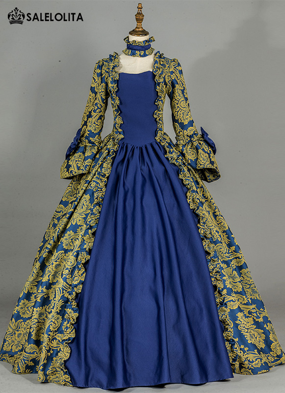 Renaissance Colonial Victorian Era Period Dress
