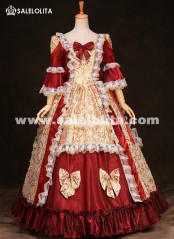 High-end 18th Century Rococo Marie Antoinette European Court Period Dress Prom Masquerade Ball Gowns For Women