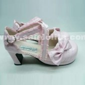 pink cos/sd doll anime lolita princess shoes