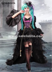 2019 Luxury Anime VOCALOID Miku Cosplay Dress Ladies Cosplay Party Dress