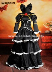 2019 Cheap Japanese Anime Vocaloid Cosplay Costume Black Vocaloid IMITATION Cosplay Dress For Women