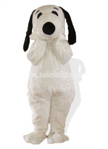 White Adult Snoopy Halloween Costume