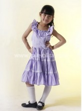 Best Selling Purple Cotton Ruffled Sweet Lolita Dress