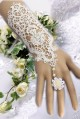 Lace Bridal Gloves chain bracelet with a ring one hand jewelry wedding accessories MTB121