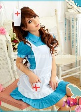 2018 New Arrival Cheap Sexy Lingerie Role Playing Nurse Maid Uniform Costumes For Women