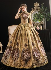 18th Century Dress Rococo Baroque Revolutionary Ball Gown Renaissance Historical Period Dress