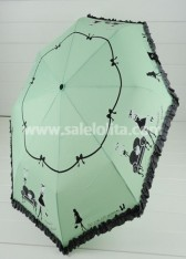 Hot Sale Aqua Auto Open Victorian Umbrella