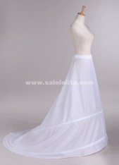 wedding dress trailing double steel without gauze petticoat,pageant crinoline prom gown underskirt
