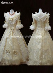 Half Sleeves Medieval Dresses Renaissance Gothic Victorian Lolita Ball Gown Southern Belle Marie Antoinette Dresses Custom