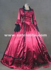 Brand New Wine Red 18th Century Marie Antoinette Victorian Ball Gowns/Party Dresses/Prom Dresses