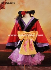 2015 New Anime Vocaloid Cosplay Kimono For Women