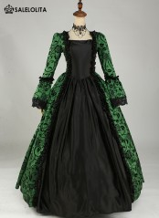 BIG DISCOUNT-LIMITED TIME!! Victorian Party Georgian Period Dress Reenactment Theatrical Stage Costumes‎