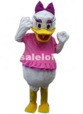 Plush Duck Cartoon Carnival Parade Costume Ball Donald Duck Daisy Mascot Costumes For Women
