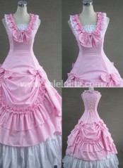 Hot Sale Sweet Pink Victorian Lolita Dress,victorian ball gown costume