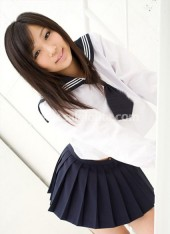 Dark Blue and White Cosplay Japanese School Uniform