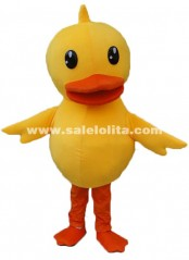 Yellow Chicken Mascot Costume Adult Size Chicken Mascot Costume