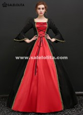 Gothic Vampire Fantasy Gowns Upscale Halloween Masquerade Costume