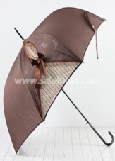 Elegant Brown Lolita Umbrella