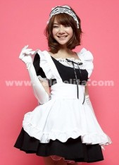 five color cheap cosplay maid dresses,alice in wonderland costumes for women