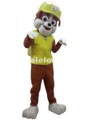 High Quality Patrol Dog Cartoon Costume Dog Mascot Fluffy Parade Costume
