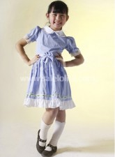 Light Purple and White Round Collar Kids Lolita Dress
