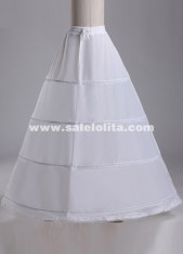High-end Bridal Bride Panniers Plus Size Four Hoop Rims Bandage Wedding Petticoat