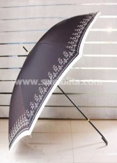 Black Gothic Lolita Umbrella