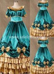 Super Gorgeous Blue Gothic Victorian Dress for Sale