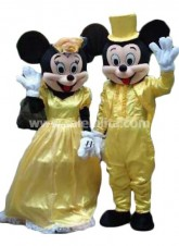 Halloween Disney Mickey and Minnie Cartoon Character Costume Mouse Mascot Carnivale Parade Gowns