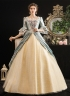 Rococo Blue Southern Belle Princess Dress Masquerade Marie Antoinette Victorian Dress