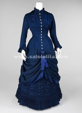 2016 New Arrival Blue Victorian Dress,Medieval Renaissance Gothic Victorian Ball Gown For Women