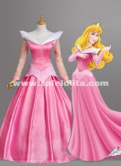 2015 Unique Brand New Green's Fairy Tales Sleeping Beauty Prom Dress Pink Adult Princess Bell Dress/Party Dress