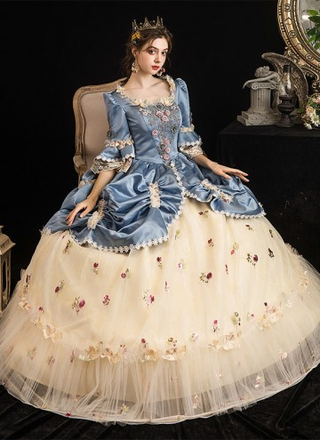 Rococo Baroque Marie Antoinette Ball Dresses 18th Century Renaissance Historical Period Victorian Dress Gown For Women