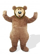 Brown Plush Adult Bear Costume