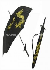 Discounted Cool Black Umbrella