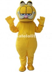 Garfield Mascot Costume Cat Mascot Cartoon Costume Christmas Carnival Outfit