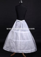 Hot Selling Bridal Petticoats Bride Panniers Three Rims A Layer Of Organza Wedding petticoat Skirt