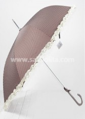 Discounted Brown Lolita Umbrella