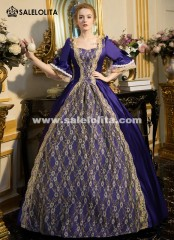 Medieval Masquerade Princess Dress Marie Antoinette Ball Gowns Baroque Colonial Waltz Dress