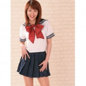 Low Price Top Grade Dark Blue and White School Lolita Suit