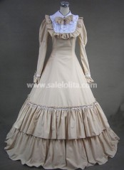 Beautiful Long Victorian Fashion Dress for Sale