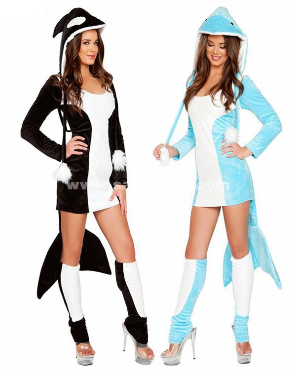 Halloween Dolphins Animal Costumes For Women Salelolita Com