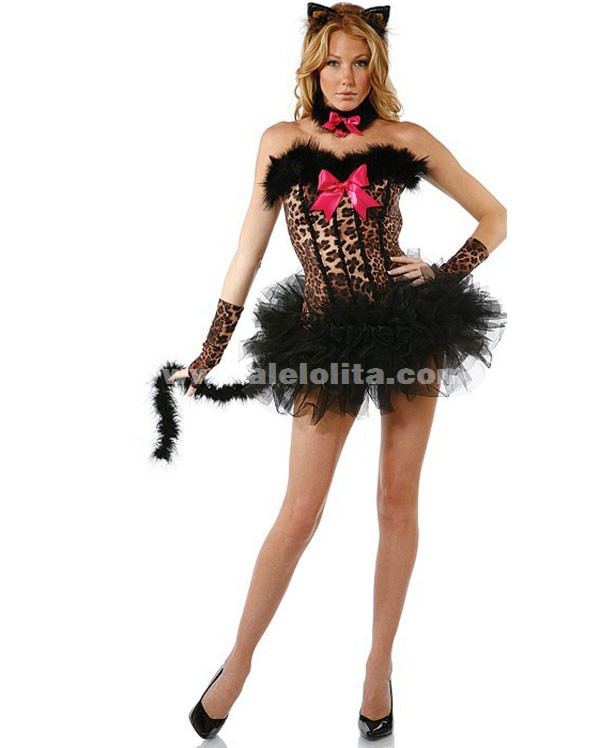 Leopard DS Club Pole Dance CostumesHalloween Cosplay Animal Costumes. Loading  sc 1 st  Salelolita.com : halloween costumes animal  - Germanpascual.Com