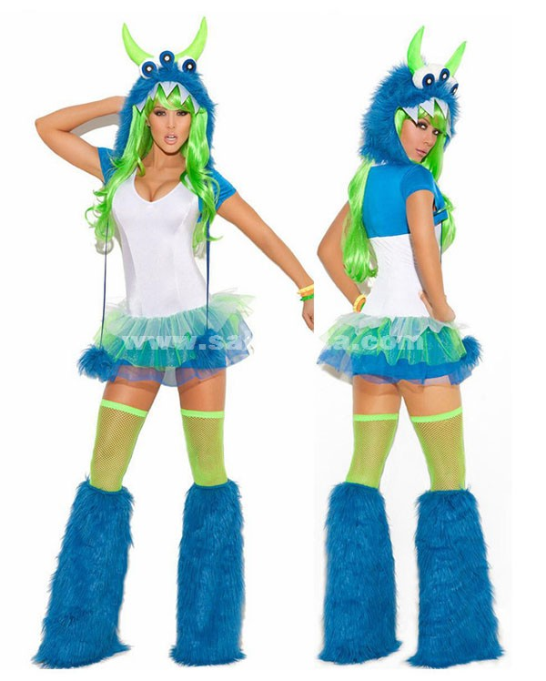 Night Bar Carnival Party Dress Female Pole Dancing Costumes ...