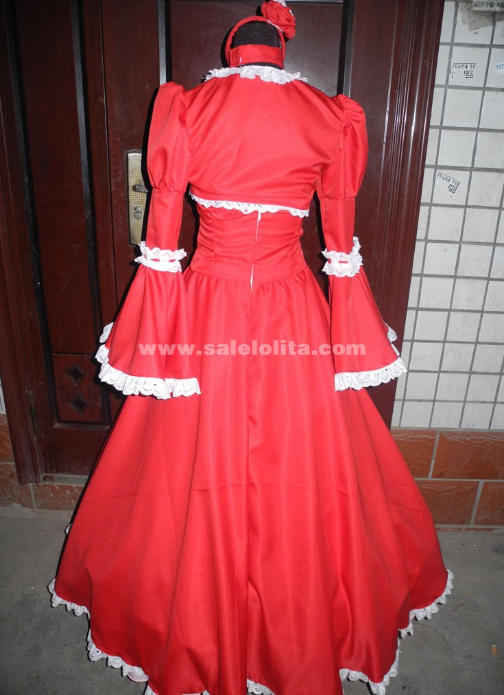 Black Butler Kuroshitsuji Elizabeth Cosplay Party Costume