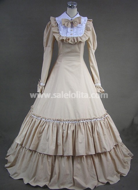 Beautiful Long Victorian Fashion Dress,Gothic Victorian Dresses for ...