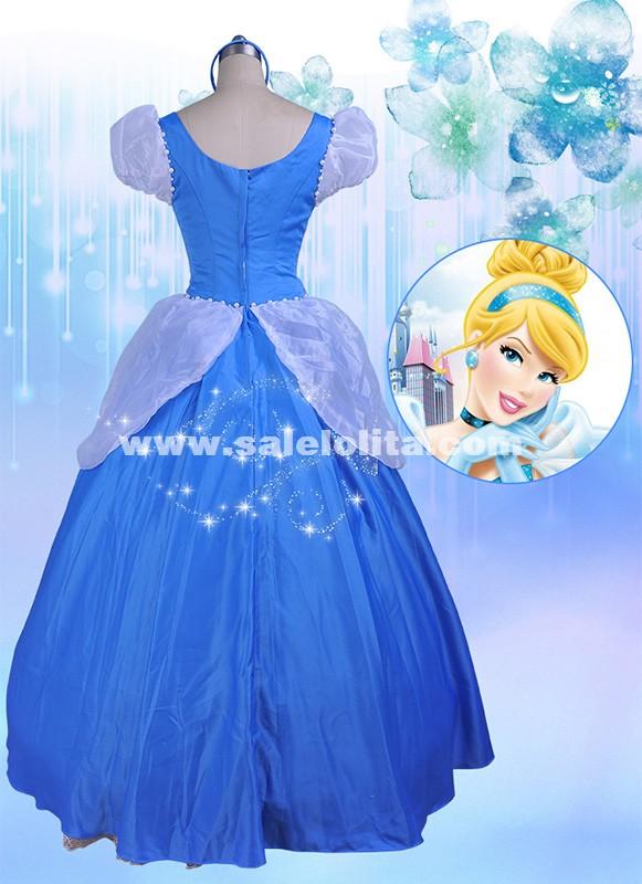 hot sale green fairy tales cinderella dress adult princess cinderella cosplay dress halloween costume for women - Green Fairy Halloween Costume